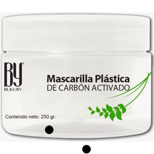Mascarilla Plástica de Carbón Activado